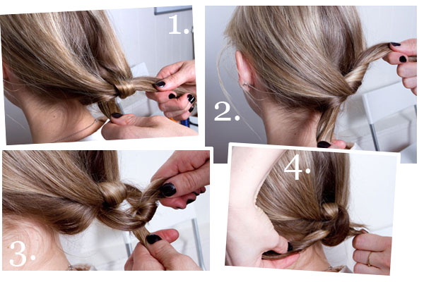 Fresh / Wedding Style Expert: Trendspotting: the hair double knot