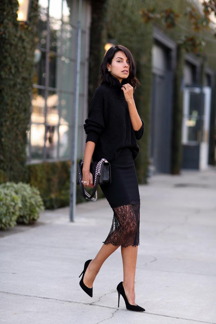 Vivaluxury Fashion Blog By Annabelle Fleur Just Black