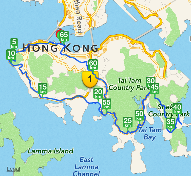 how to get to shek o from central