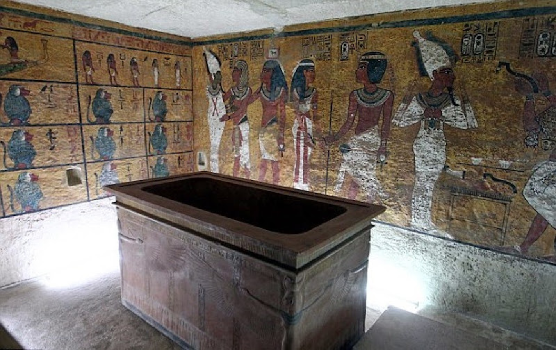 Official opening of the Replica of Tutankhamun's Tomb