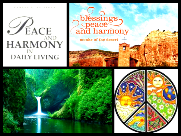 peace and harmony essay Distinguished chairman, ladies and gentlemen: it is a great pleasure for me to be invited to attend the interfaith summit for peace and harmony in australia and.