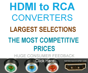 HDMI to RCA Converter | Web's largest selection
