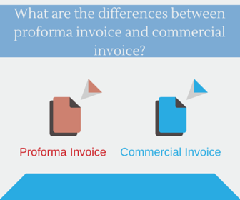 Today I Would Like To Mention The Differences Between A Proforma Invoice  And A Commercial Invoice.