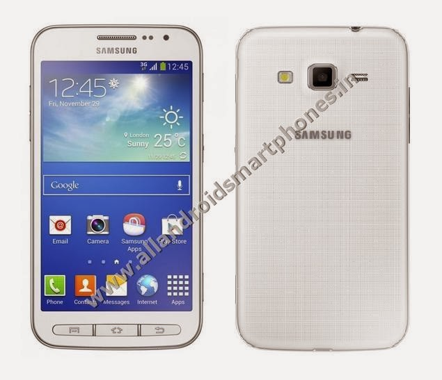 Samsung Galaxy Core Advance 3G Wi-Fi Android Smartphone White Front Back Photos Images Review
