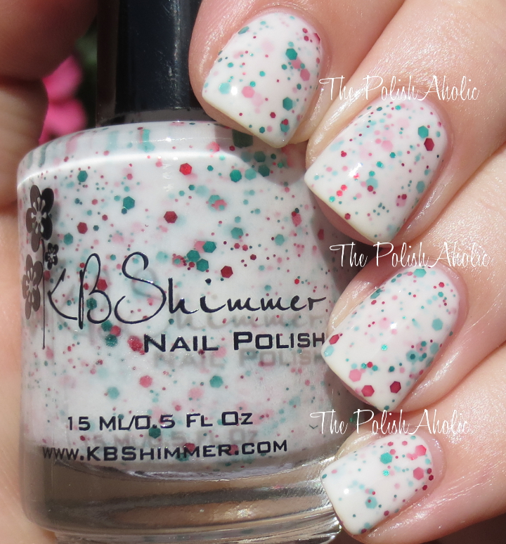 The PolishAholic: KBShimmer Holly Back Girl Swatch & Review