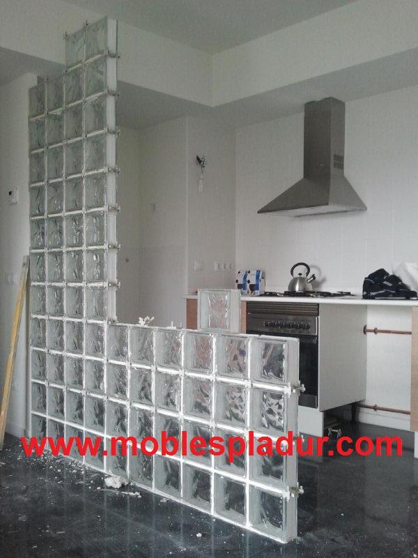 Pladur barcelona separador bloques de vidrio - Bloques de cristal ...