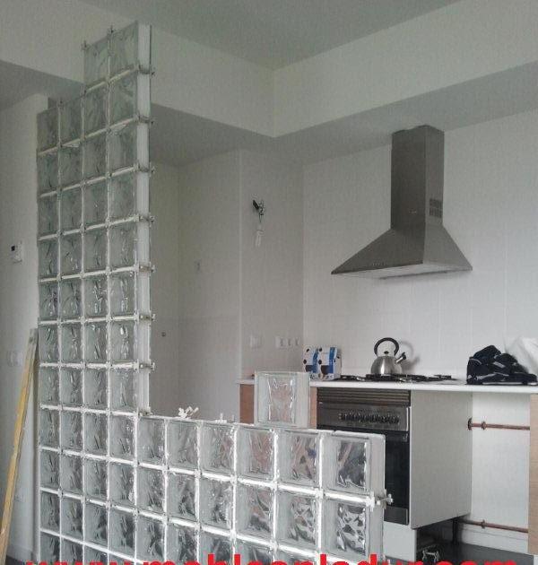 Decorar cuartos con manualidades colocacion de bloques de - Bloques de cristal ...