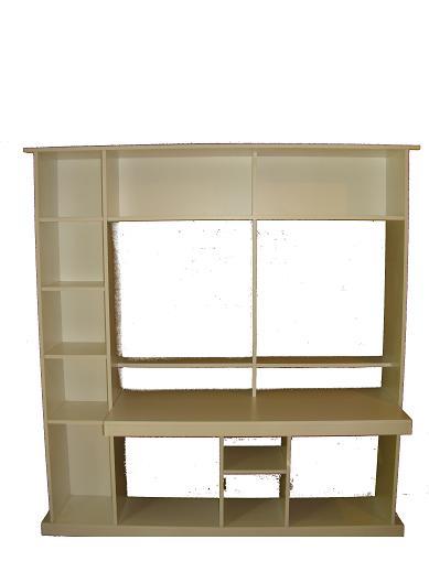 Armado de muebles biblioteca escritorio carpinterof for Armado de muebles en mdf