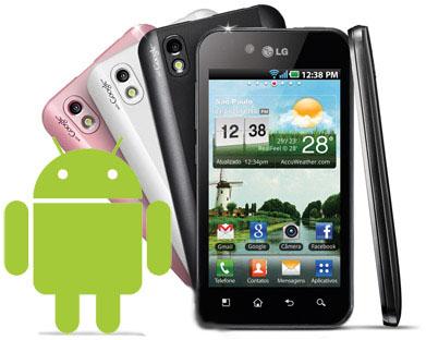 Celular Lg Android nas Casas Bahia - imagens de celulares lg android