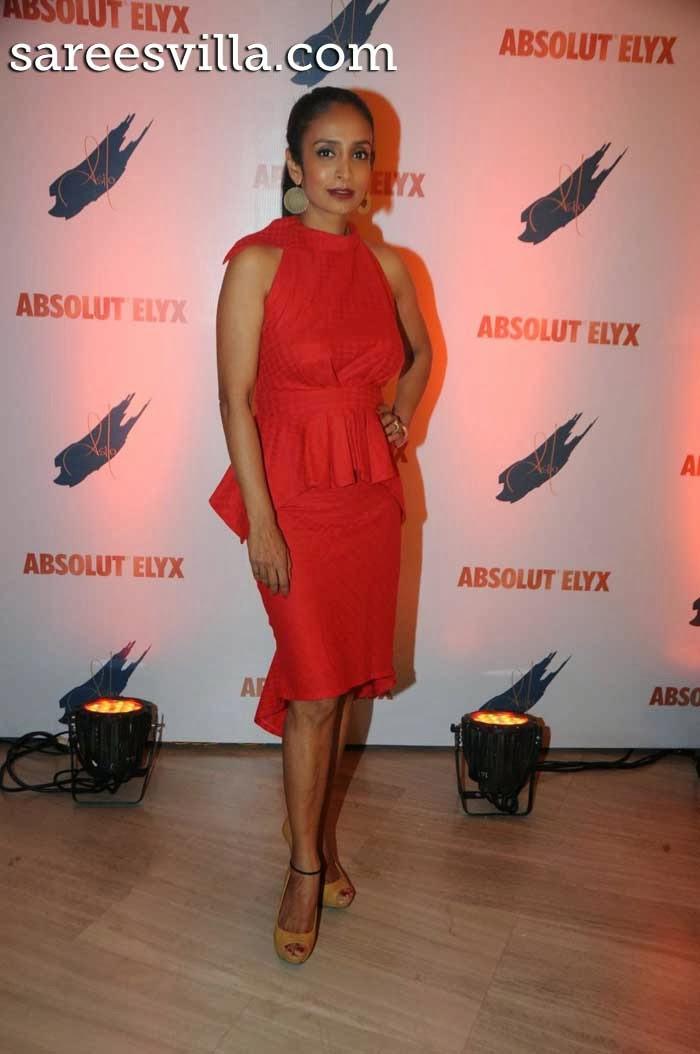 Suchitra Pillai hosted Absolut Elyx party