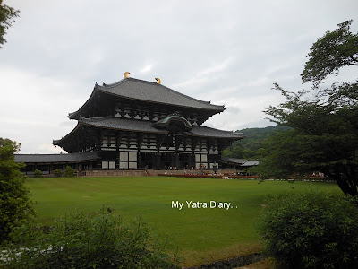 The world's largest wooden structure - Todaiji Temple in Nara, Japan