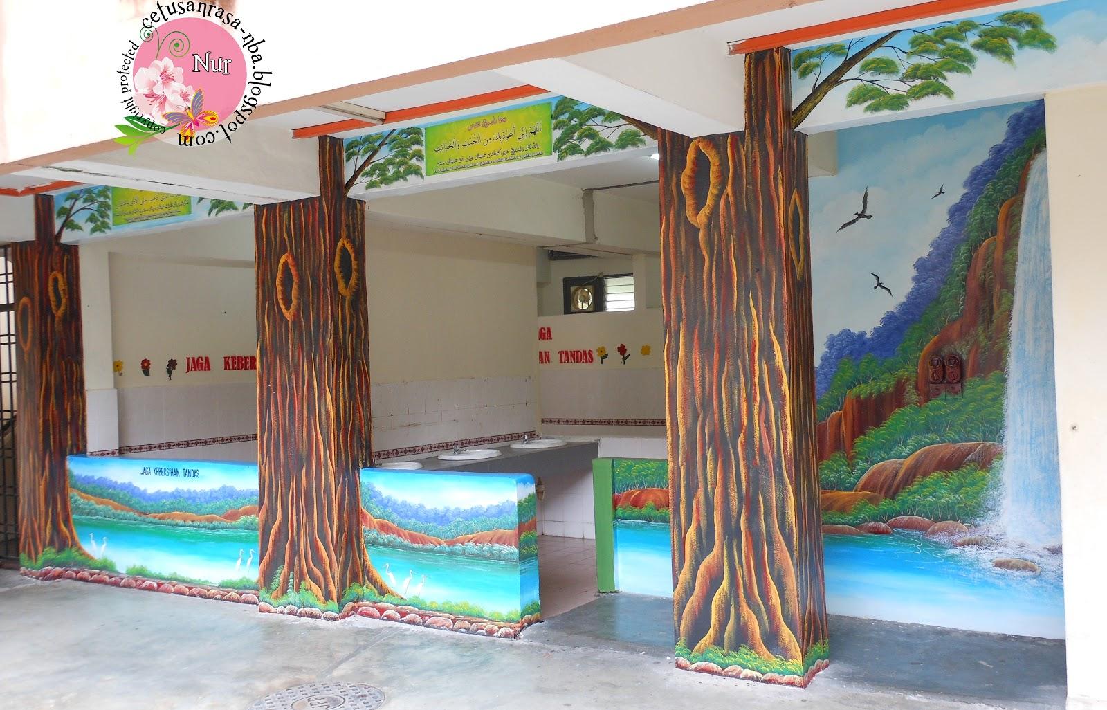 Contoh deco hiasan di sekolah for Contoh lukisan mural tadika