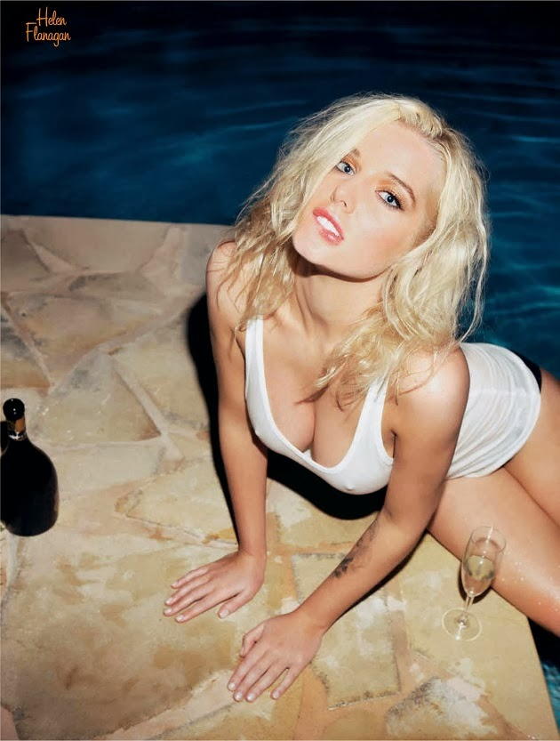 Helen Flanagan - FHM France October 2013