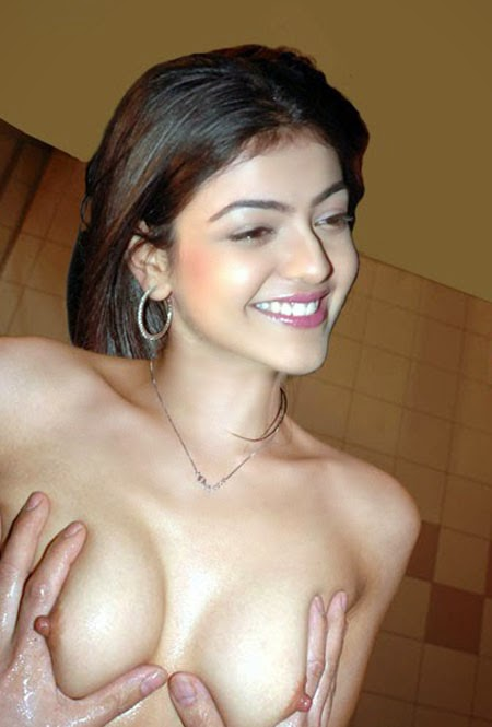 Kajal Agarwal Boobs Nipples and Fucking