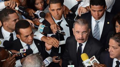 """VIDEO: Danilo Medina: """"Cuando la gente se sienta abrumada, acuda a Dios"""""""