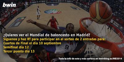 bwin sorteo entradas madrid mundial baloncesto