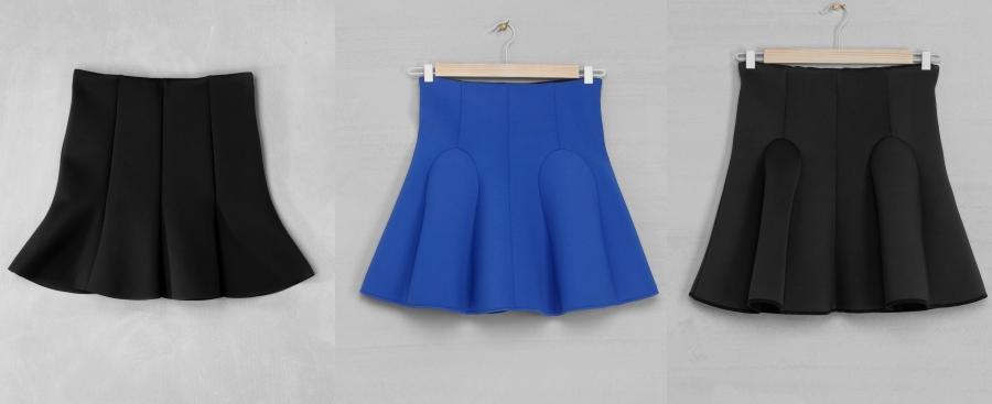 Fashion spa sunday cravings flounce skirts