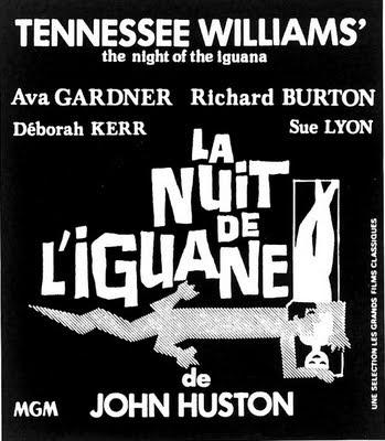 The night of iguana by John Huston