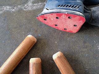 como hacer una banqueta de madera