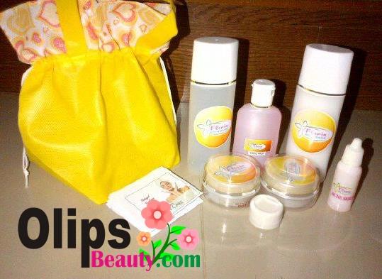 Perawatan Wajah Florin Skin Care Memutihkan dan Mehilangkan Jerawat