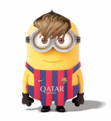 Minion neymar - Futbol Parodia