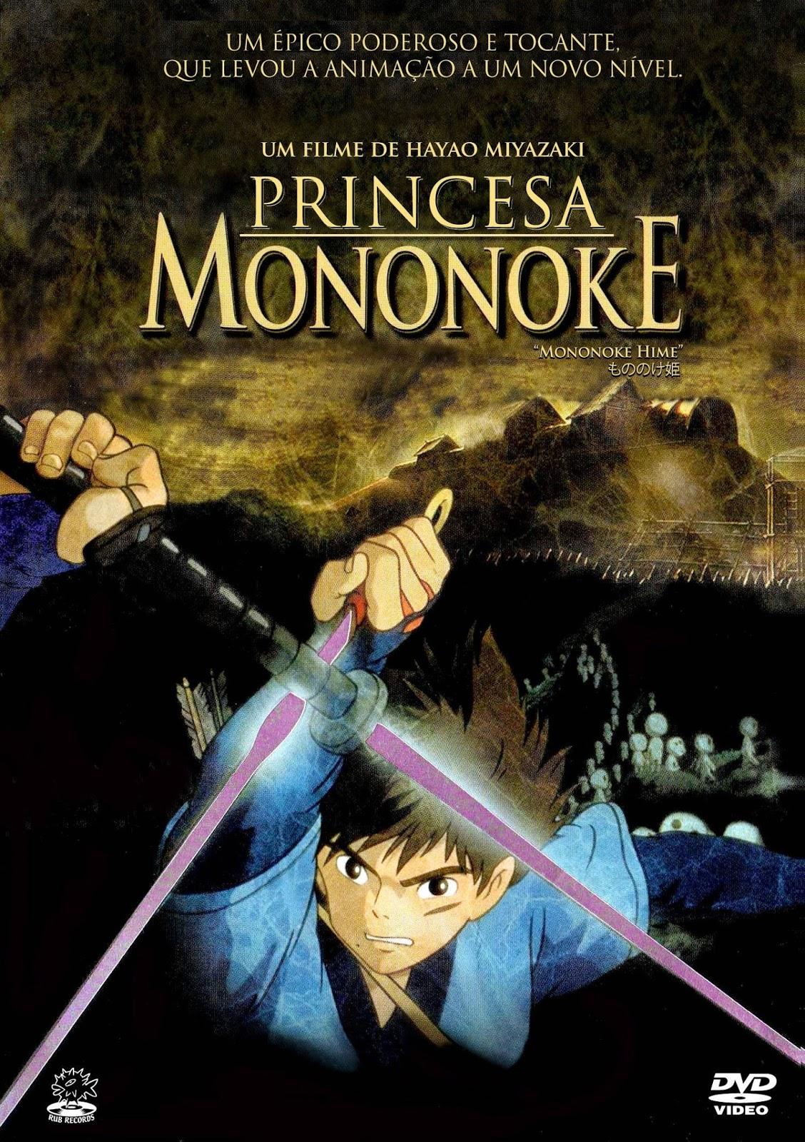 A Princesa Mononoke – Legendado (1997)