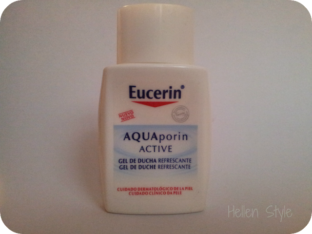 Gel refrescante de ducha Aquaporin active