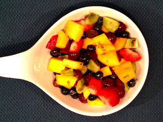Wasatch Mountain Chef: Fruit Salad with Rosemary Citrus Dressing