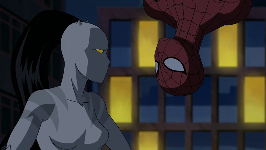 Ultimate spiderman white tiger and spiderman kiss - photo#21
