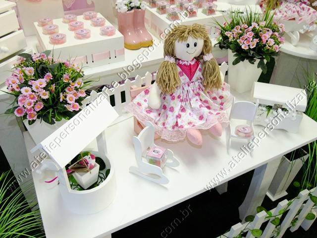 Decoração de festa infantil Bonecas de Pano