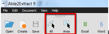 selecting file to convert