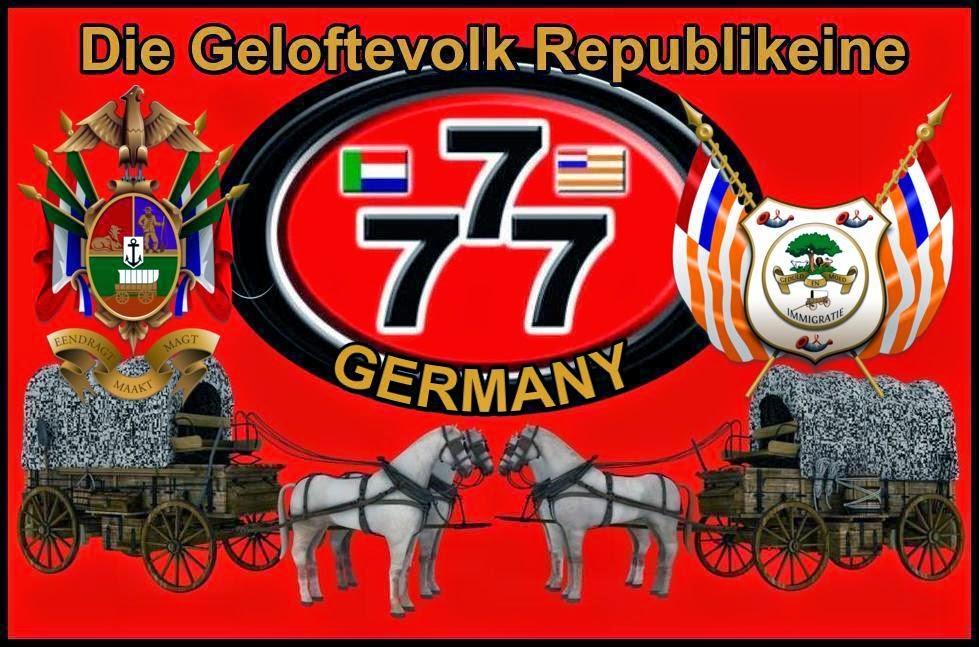 Geloftevolk Republikeine Germany Saam Staan