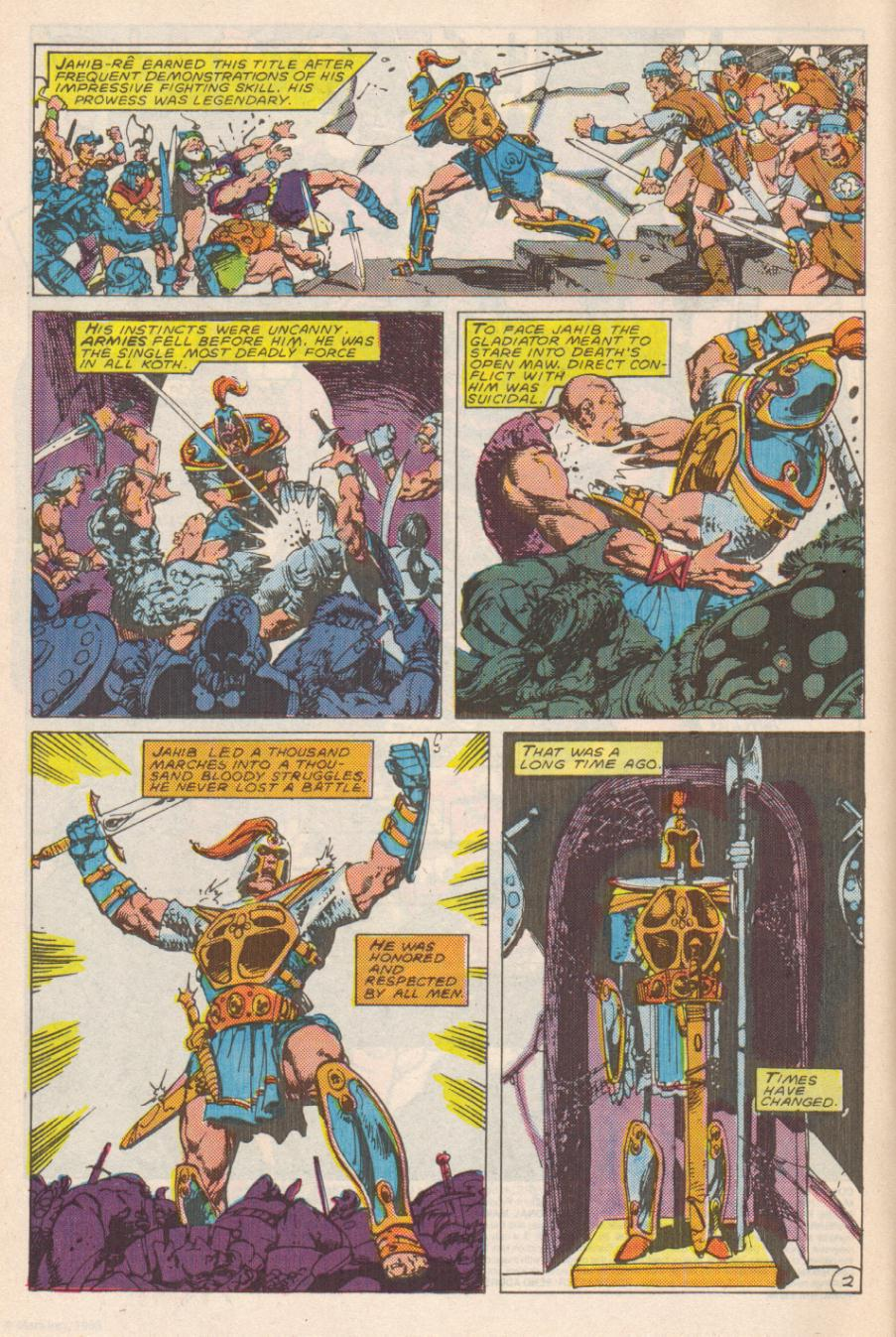 Conan the Barbarian (1970) Issue #191 #203 - English 3