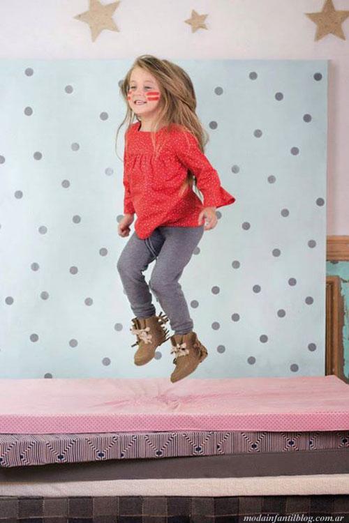 moda en ropa para niñas otoño invierno 2014 paula cahen danvers