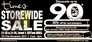 Times Books Storewide Sale SSTwo Mall 2013