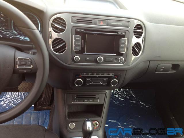 VW Tiguan 2013 - console central
