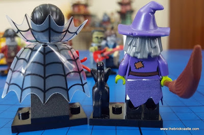 Spider Woman Wacky Witch LEGO minifigures halloween monsters