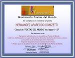 CÔNSUL POETAS DEL MUNDO (Itapevi)