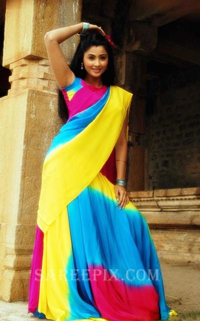 Gajendra_actress_Daisy_shah_half_saree_pic