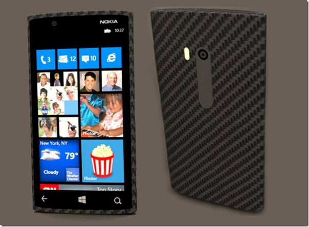 Nokia Lumia 940 Made of Carbon and Run with Windows 8