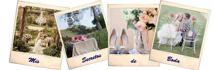 MIS SECRETOS DE BODA