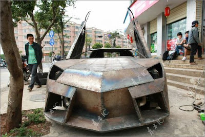 Car Lover Builds Lamborghini Reventon For Himself Seen On www.coolpicturegallery.us