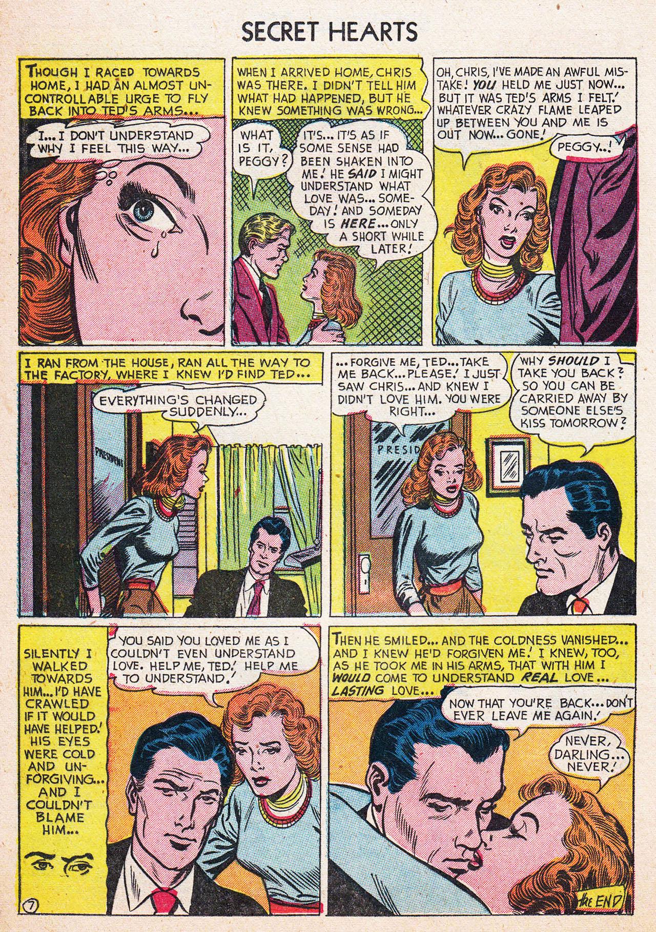 Read online Secret Hearts comic -  Issue #13 - 24