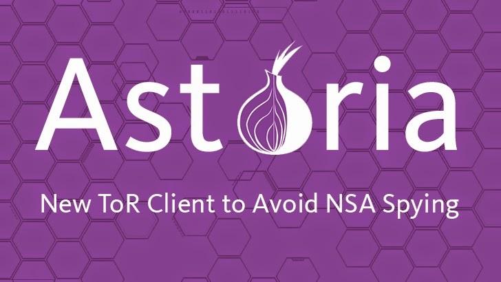 Astoria — Advance Tor Client Designed to Avoid NSA Attacks