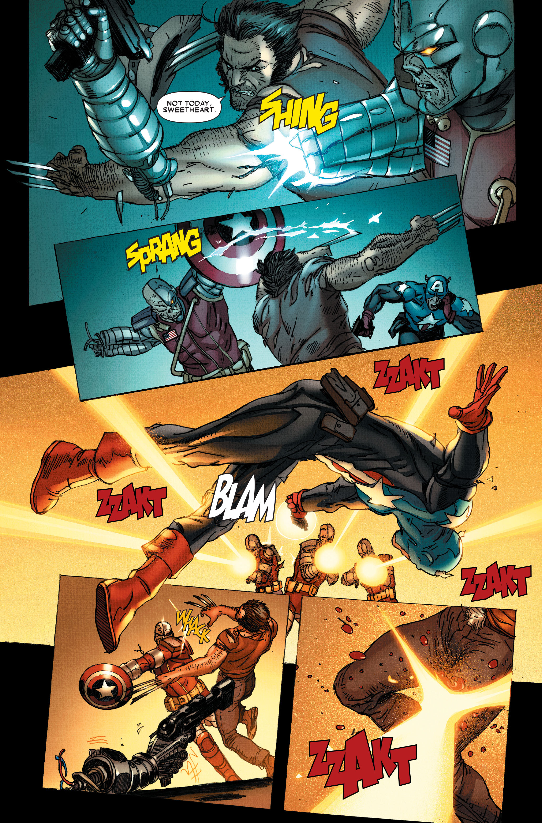 Wolverine: Weapon X #12 #5 - English 16