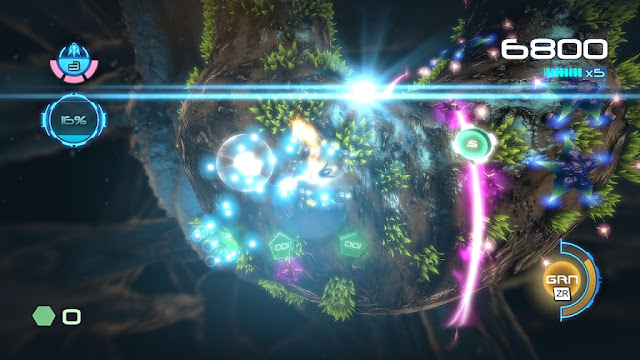 Screenshot of Wii U eShop game Nano Assault Neo