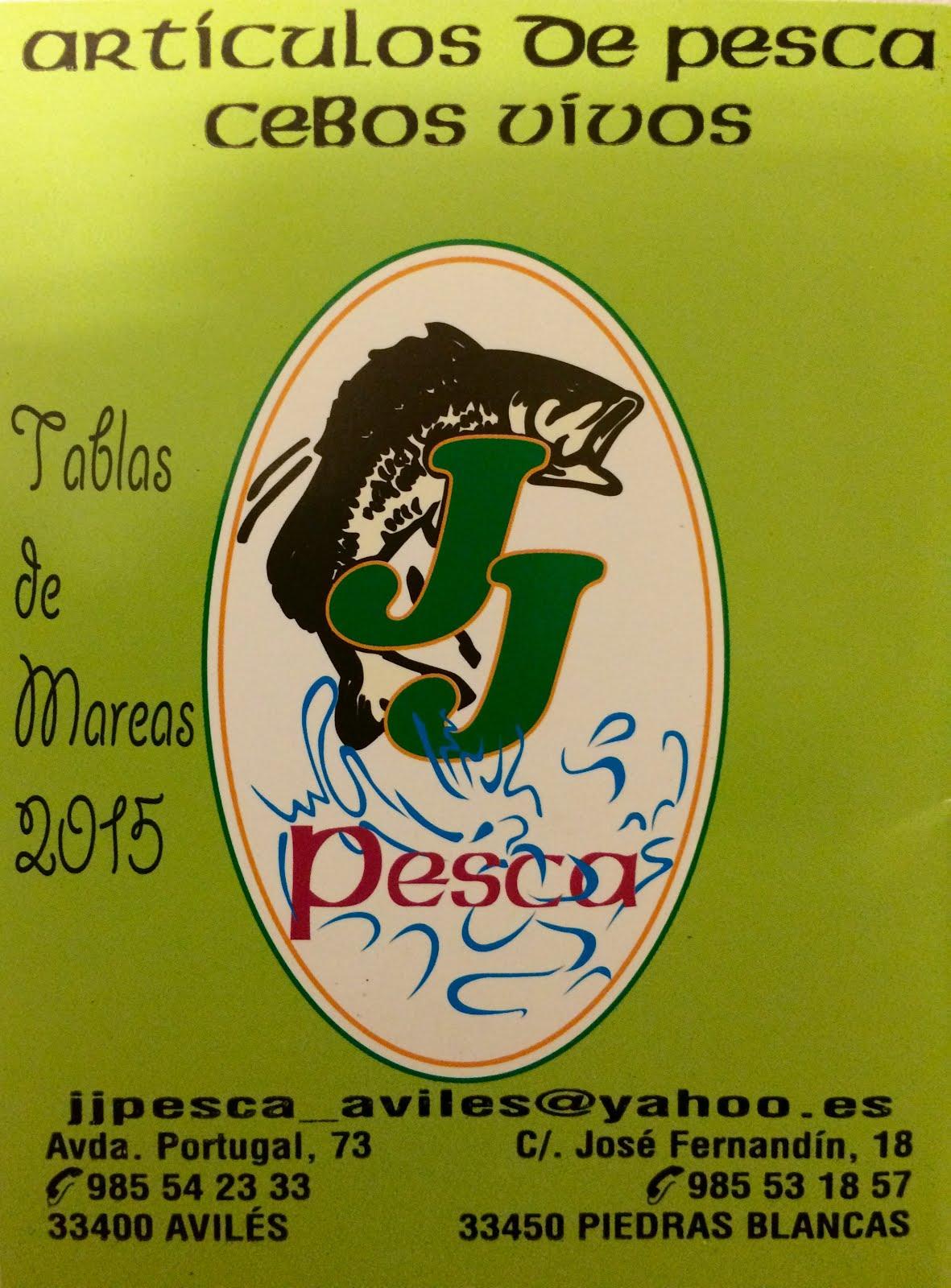 En Asturias tu tenda de pesca...¡¡¡no confundas!!! JJ PESCA en Avilés y Piedras Blancas