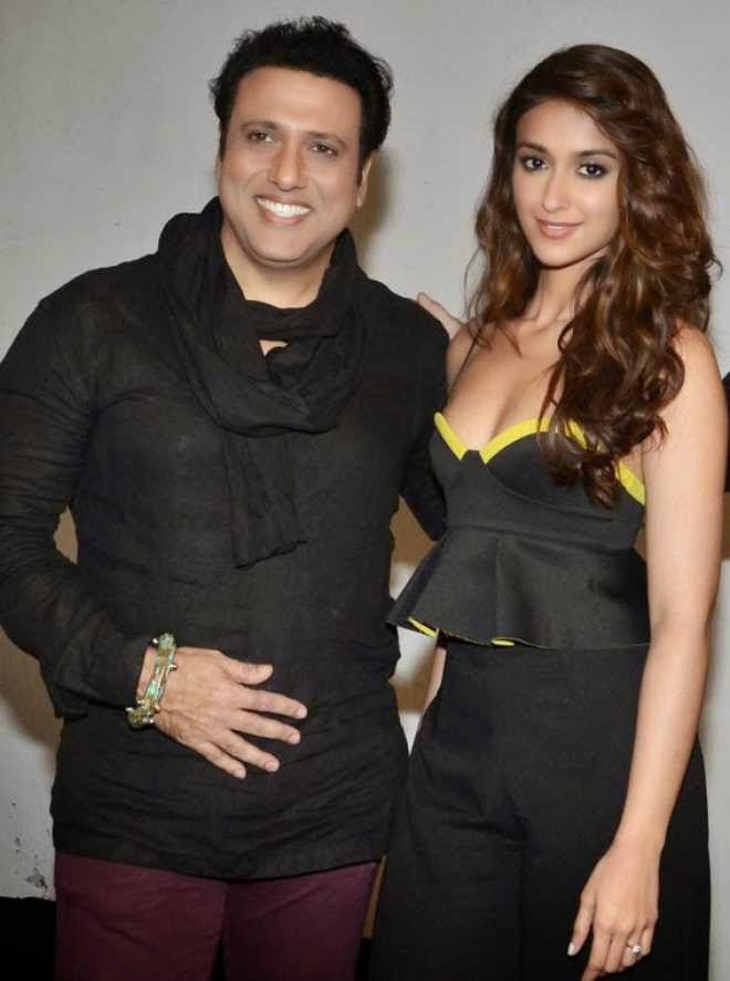 ileana with govinda happy ending promotion photo