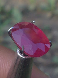 natural african ruby