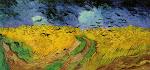 Gogh's Threatening Skies